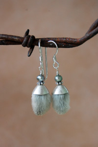 pussywillow earrings